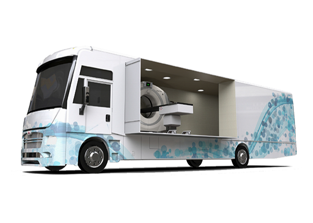 mobile lung unit specialty vehicle