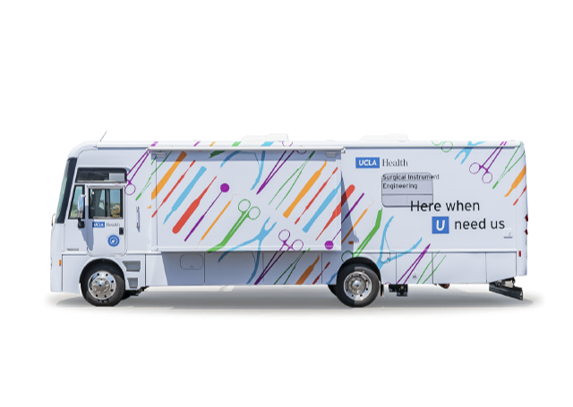 UCLA Health specialty vehicle